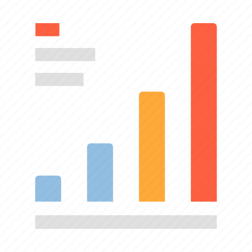 bar graph, business, diagram, graph, growth, infographic, statistic icon