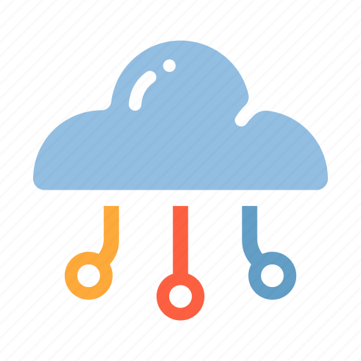 cloud, cloud computing, computing, digital, internet, network, server icon