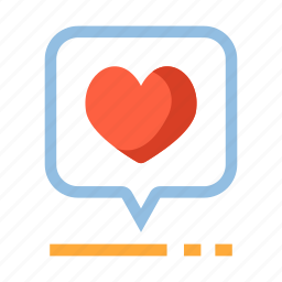 compliment, feedback, heart, marketing, ranking, rating, social icon
