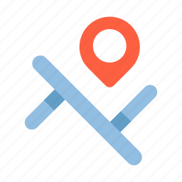 destinations, direction, gps, location, map, pin, street icon