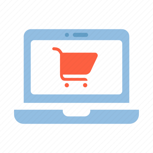 buy, commerce, laptop, online, online shopping laptop, purchase, shopping icon