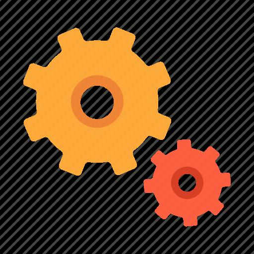 cog, cogwheel, element, engine, gear, progress, setting icon