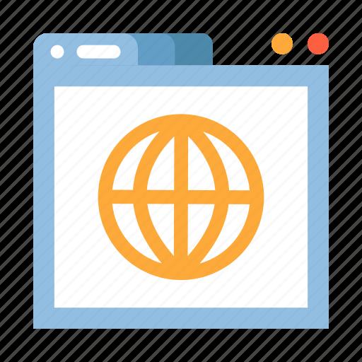 interface, internet, network, url, website, world wide web, www icon