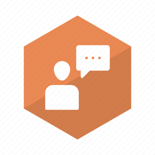 bubble, chat, communication, network, support, talk, user icon