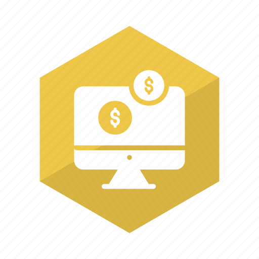 banking, business, computer, dollar, ecommerce, online, payment icon