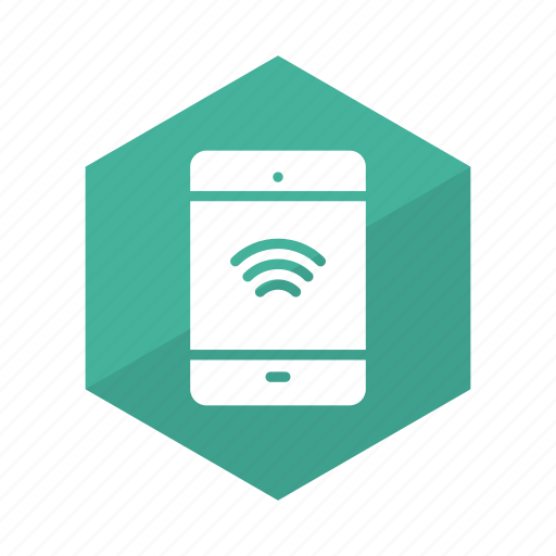 connection, device, mobile, signals, tablet, wifi, wireless icon