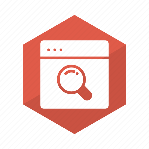 broswer, browsing, google, magnify, search, web, website icon