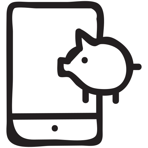 bank, banker, digitalbanking, ebanking, finance, mobile, online icon