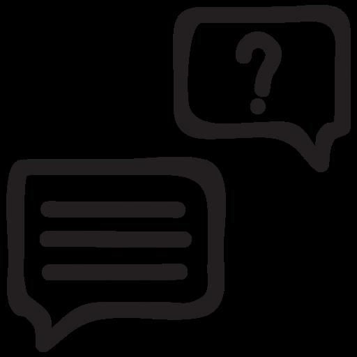 bubble, communication, media, message, speech, support, talk icon