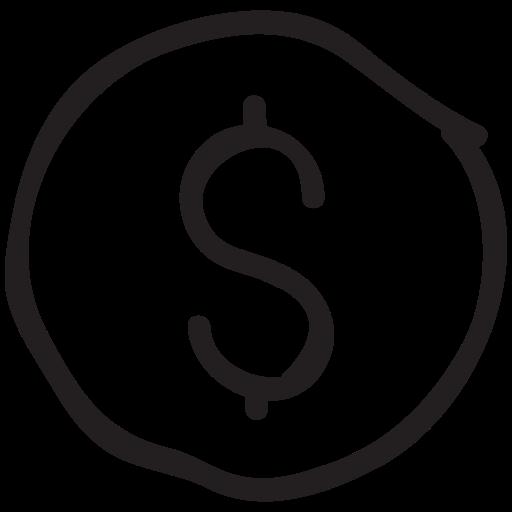 cash, coin, dollar, finance, fund, money, payment icon