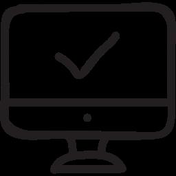 monitor  check  mark  online  testing  screen  pc 256 Организация автоматизированного тестирования