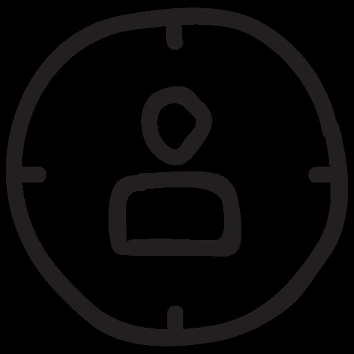 aim, boss, customer, marketing, target, targetuser, user icon