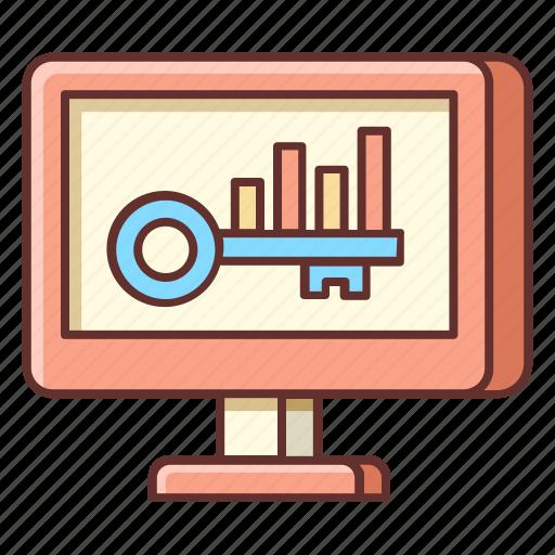 analysis, benchmark, benchmarking, keyword, keyword analysis icon