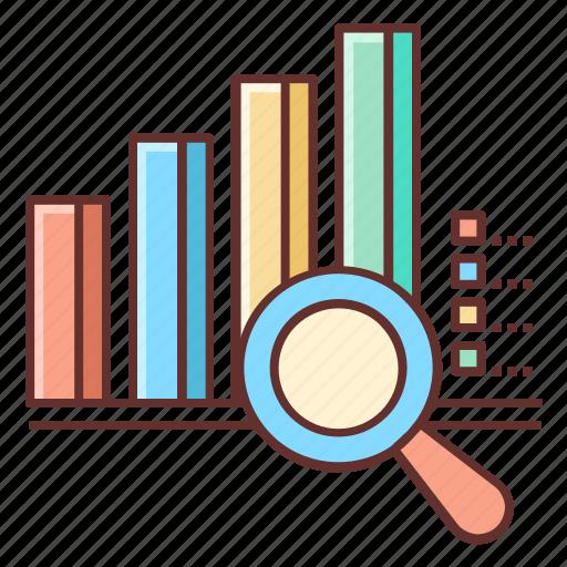 analysis, analytics, market, market research, research icon