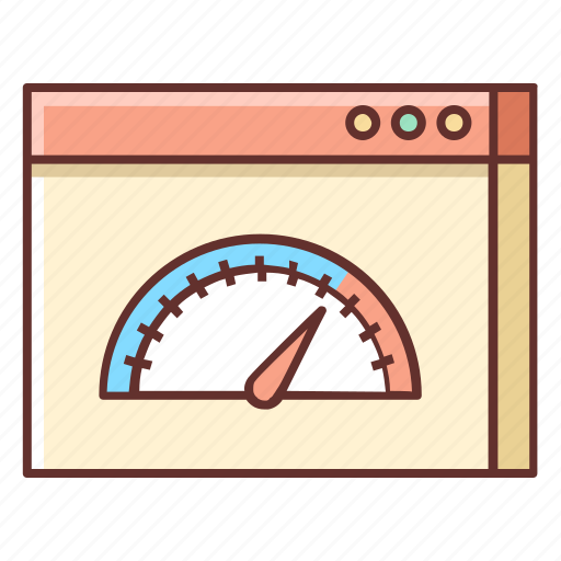 Internet speed, loading speed, page, page speed, speed, speed test icon - Download on Iconfinder