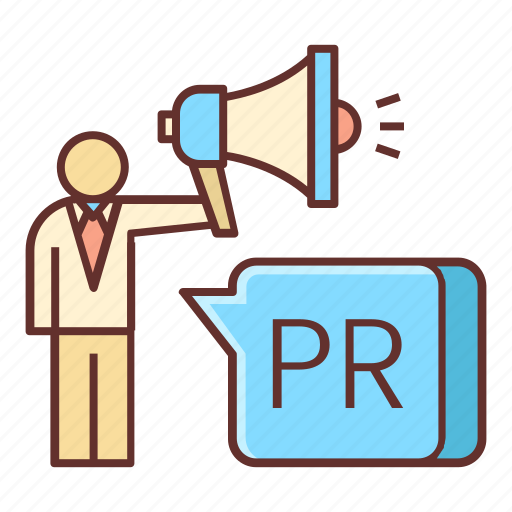 communication, pr, public relations icon