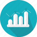 bars, business, chart, finances, graphic, presentation, statistics icon