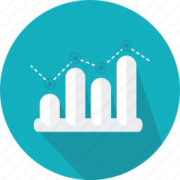 bars, business, chart, finances, graphic, presentation, statistics icon