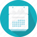 calendar, date, events, interface, organization, schedule icon