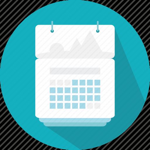 calendar, date, events, interface, organization, schedule icon