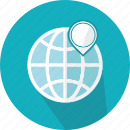 flags, geography, location, map, orientation, placeholder, position icon