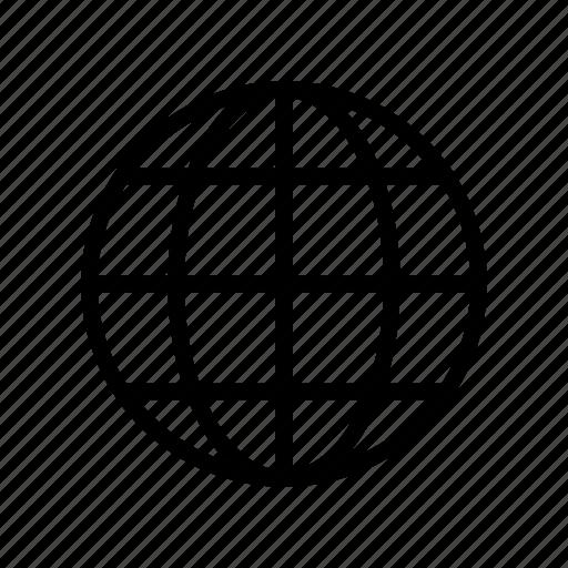 browser, earth, globel, internet, world icon