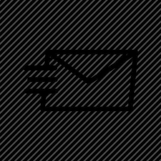 inbox, latter, mail, message, sending icon