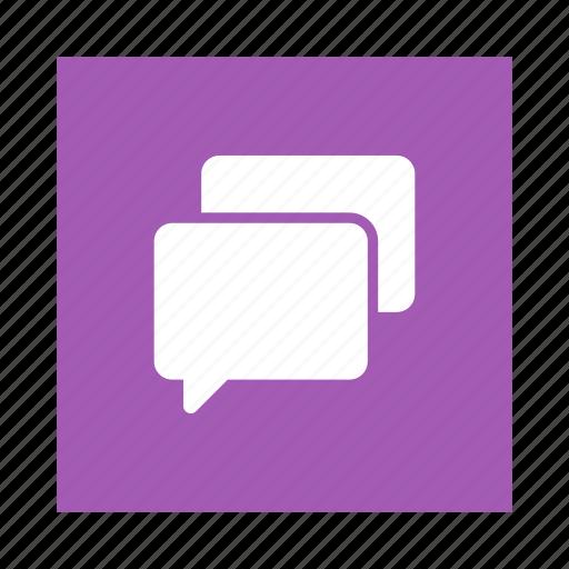 bubble, bubblechat, chat, chatting, message, speech, talk icon