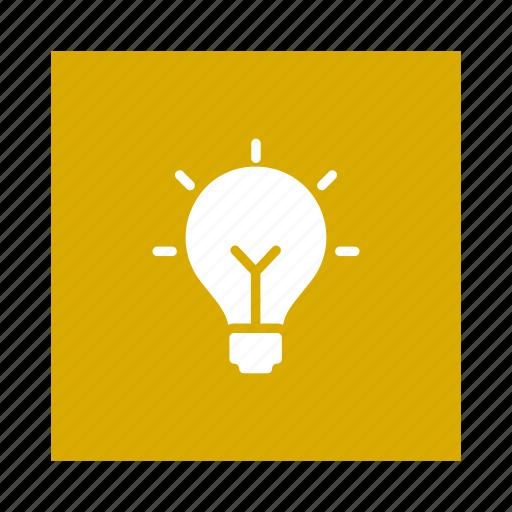 appliances, bulb, energy, home, idea, lamp, power icon