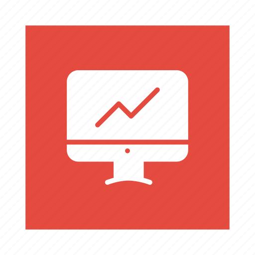 Onlinechart, business, graph, reporting, chart, report, data icon