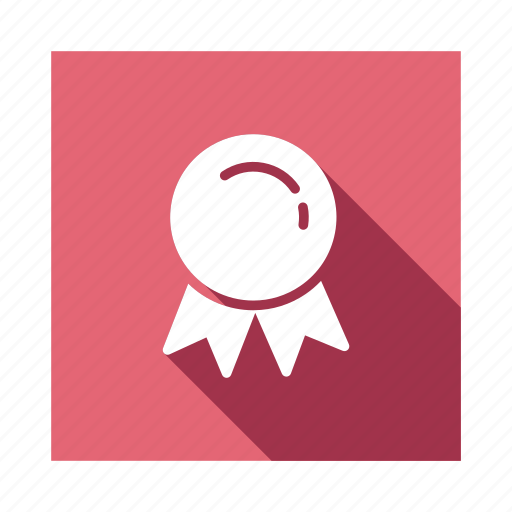 award, awardbadge, badge, guarantee, medal, ribbon, sticker icon