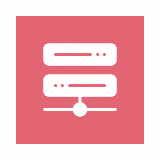 connect, data, database, network, server, storage, technology icon