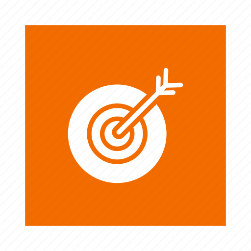 business, goals, mission, office, seo, shooting, target icon