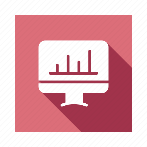 bars, chart, graph, information, online, pie, web icon