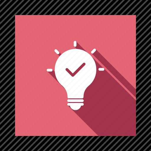 bulb, business, creative, creativity, idea, lamp, office icon