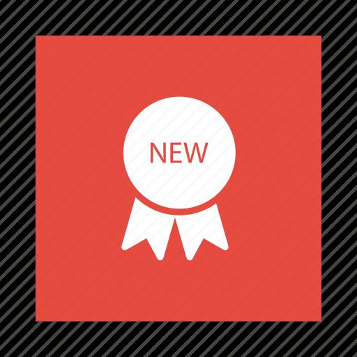 achievement, award, badge, label, medal, police, ribbon icon