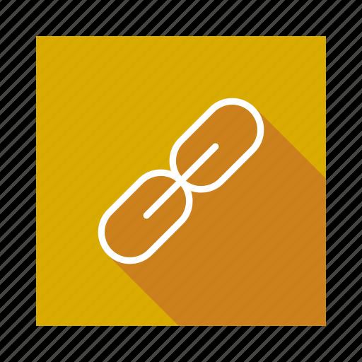 Chain, communication, hyperlink, link, linked, network, url icon - Download on Iconfinder