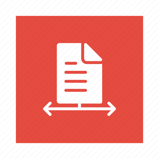 document, file, format, share, sharing, social, statistic icon