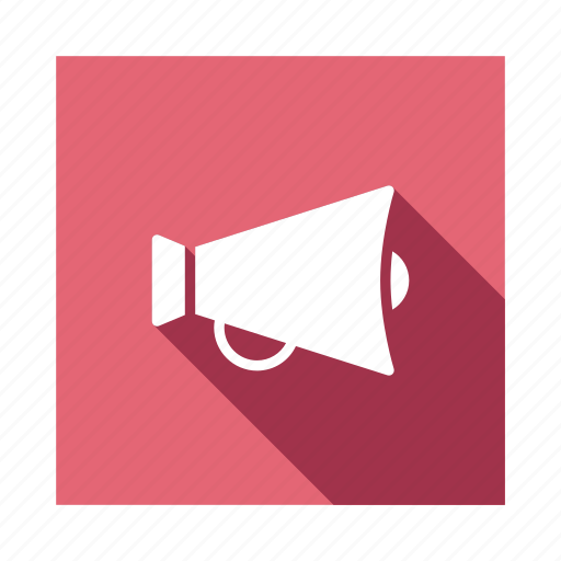 Advertising, advertisment, announcement, loud, megaphone, sound, speaker icon - Download on Iconfinder