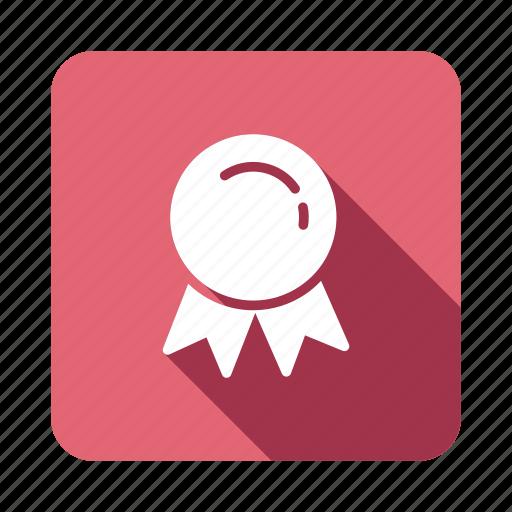 award, awardbadge, badge, guarantee, medal, ribbon, sticker icon