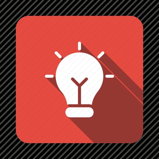 bulb, business, idea, lamp, light, office, teamwork icon