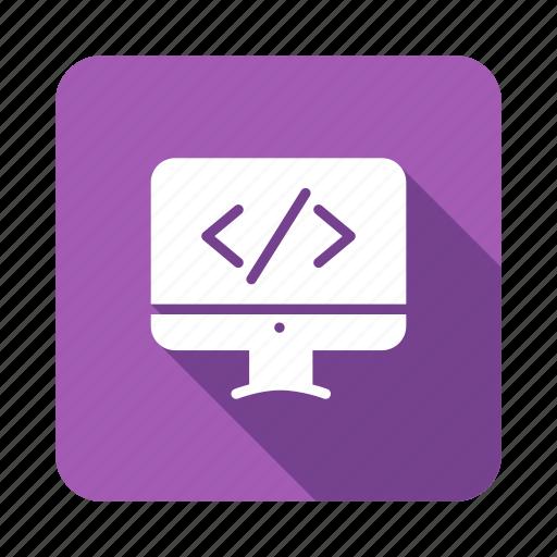 coding, development, html, php, programming, script, webcoding icon