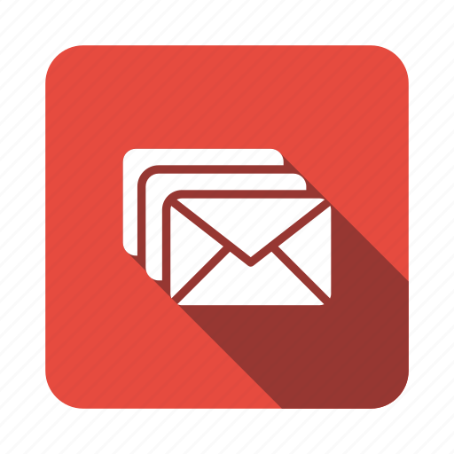 communications, email, envelope, letter, mail, message, spam icon