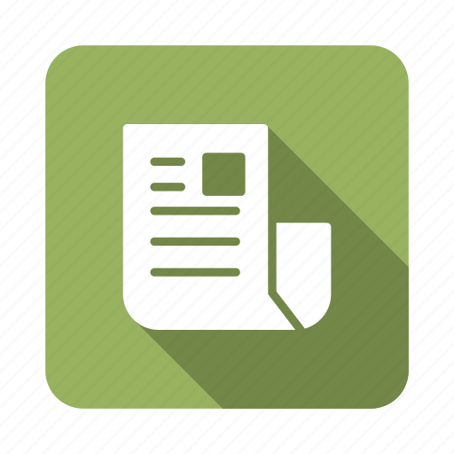 blog, dailynews, information, news, newspaper, paper, survey icon
