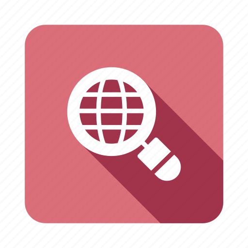 Browser, global, internet, magnifier, search, solution, web icon - Download on Iconfinder