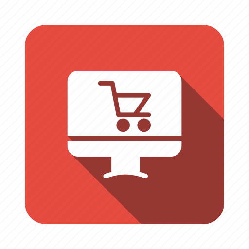 Shop, buy, shopping, business, online, cart, digital icon