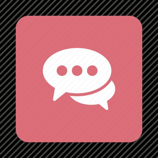 Bubble, bubblechat, chat, conversation, message, speech, talk icon - Download on Iconfinder