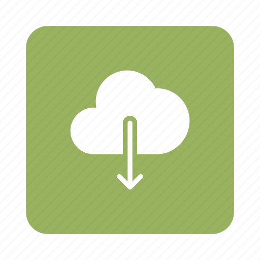 cloud, computing, database, download, multimedia, network, transfer icon