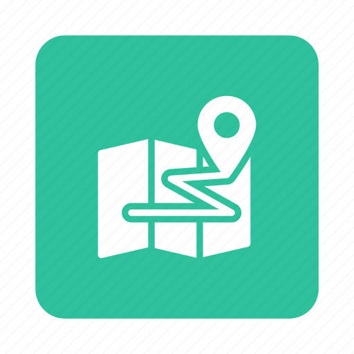 direction, location, map, mapmarker, navigation, pointer, world icon