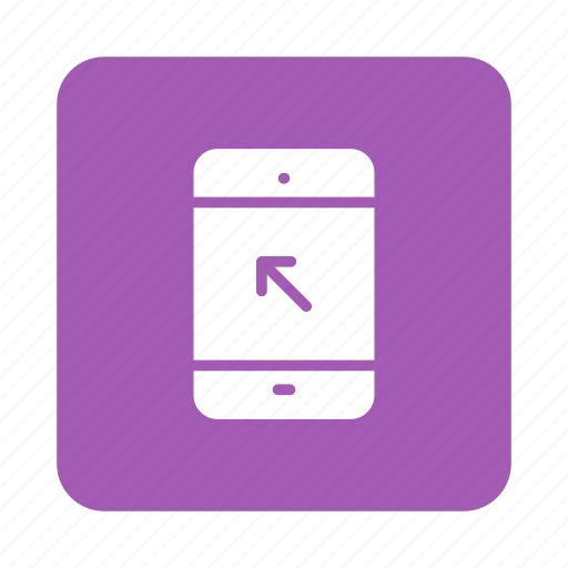 device, mobile, multimedia, phone, power, smartphone, telephone icon
